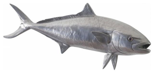 Aluminum fish wall art