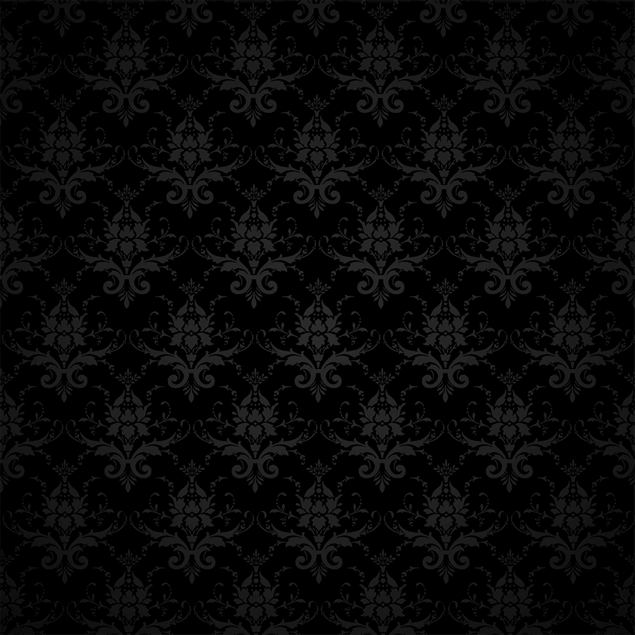 Black retro wallpaper
