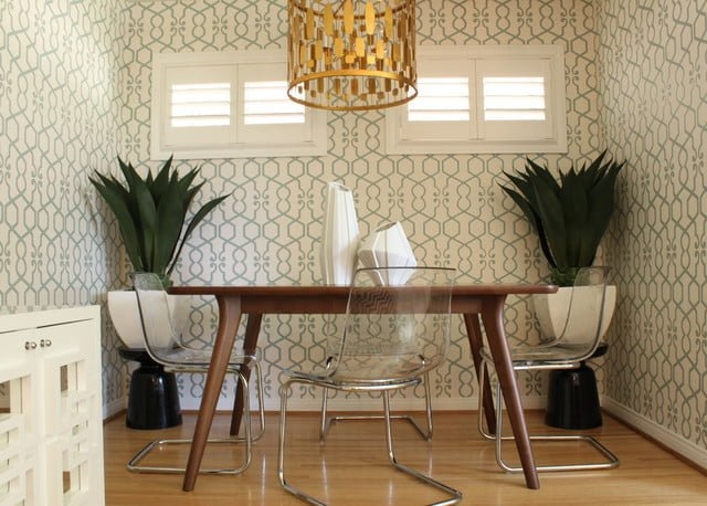Danish modern wallpaper