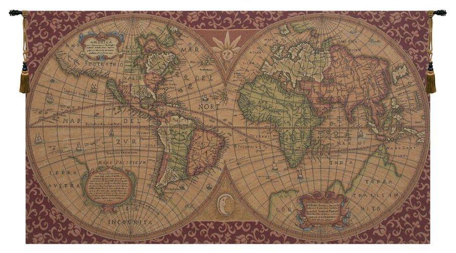 Globe tapestry