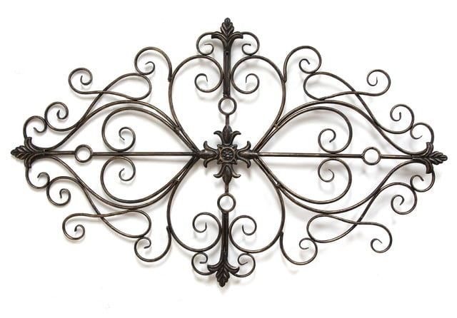Metal Scroll Wall Decor