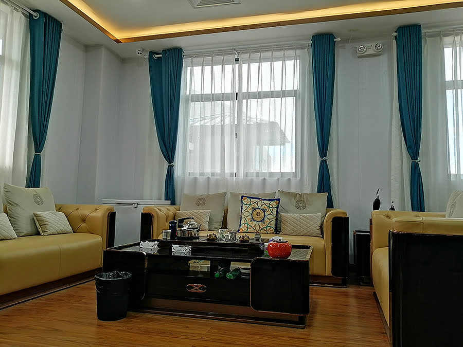 Wall Curtains In Living Room